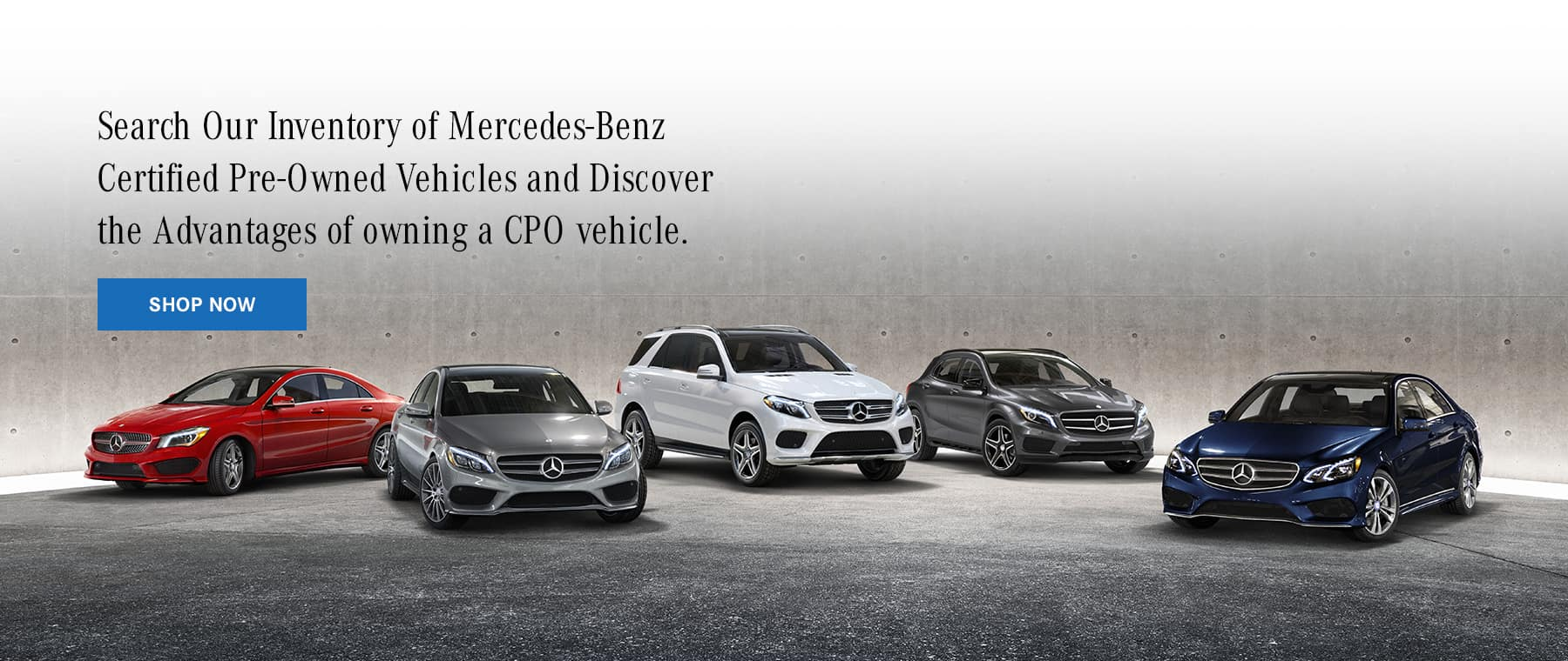 Mercedes-Benz Fairfield CPO Offers Banner