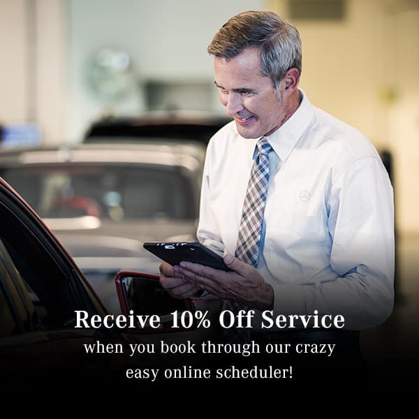 10% off service when you schedule online
