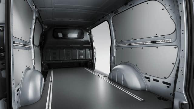2018 Metris Cargo Van inside