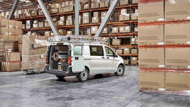 2018 Metris Cargo Van back open