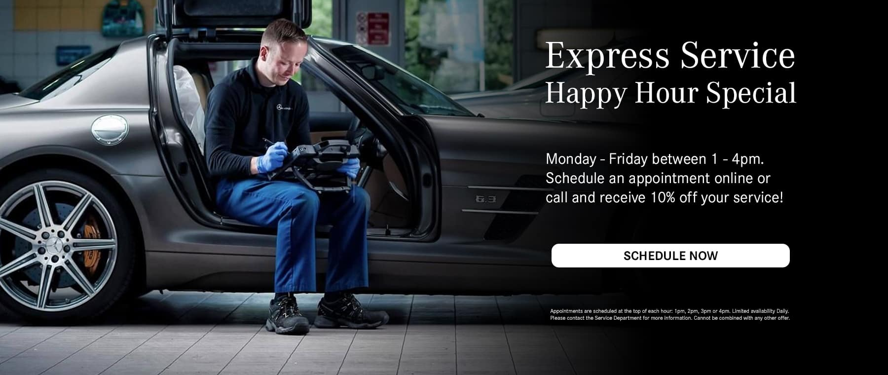 Express Service Happy Hour