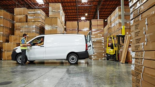 2018 Mercedes-Benz Metris warehouse