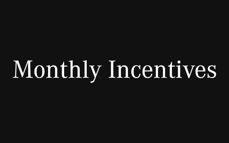 Monthly Specials