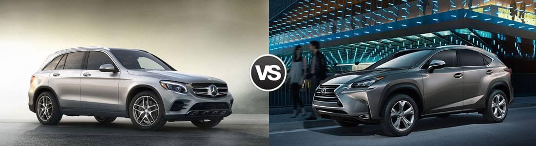 2017 Mercedes-Benz GLC vs 2017 Lexus 200t