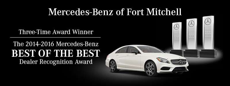 Best of the best award winner mercedes benz dealer in for Mercedes benz of fort mitchell