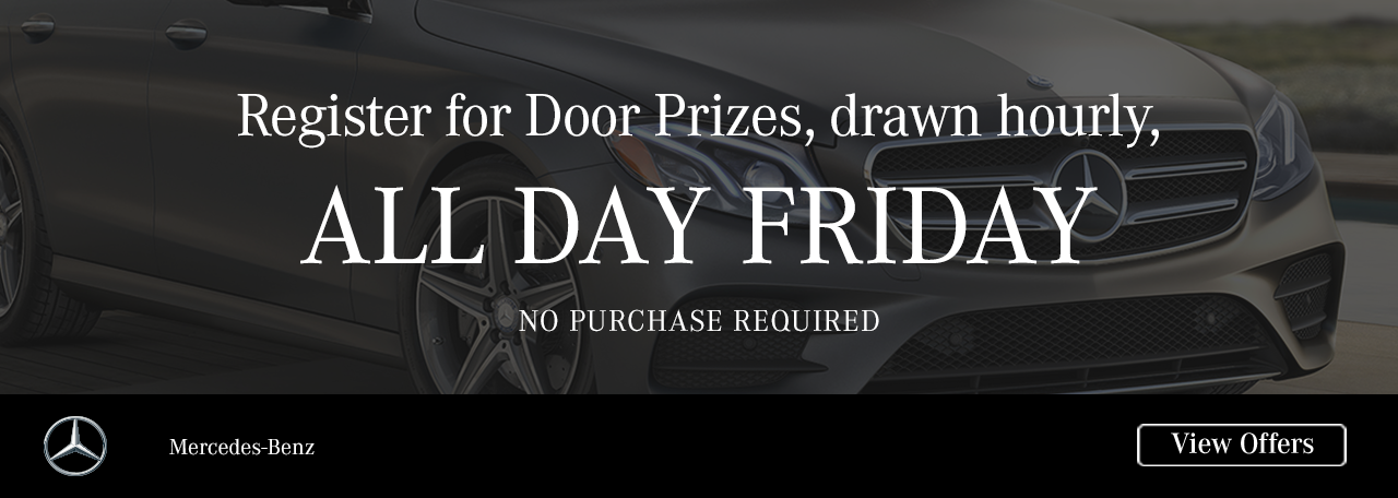 2017 Black Friday Offers | Mercedes-Benz of Fort Mitchell
