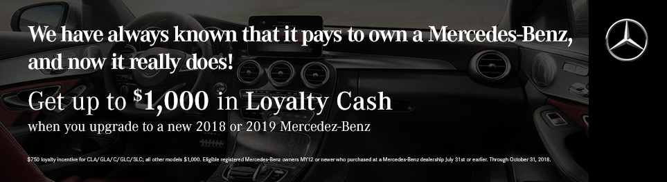 Mercedes-Benz Loyalty Incentive Program