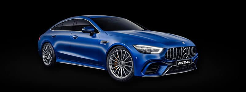 The all new 2019 Mercedes-AMG GT 4 Door Coupe