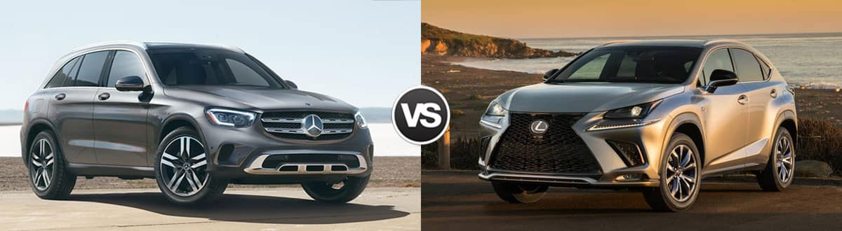 2020 Mercedes-Benz GLC  vs 2020 Lexus NX