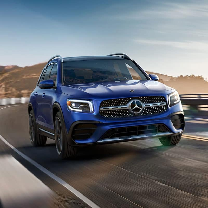 The all-new 2020 Mercedes-Benz GLB SUV