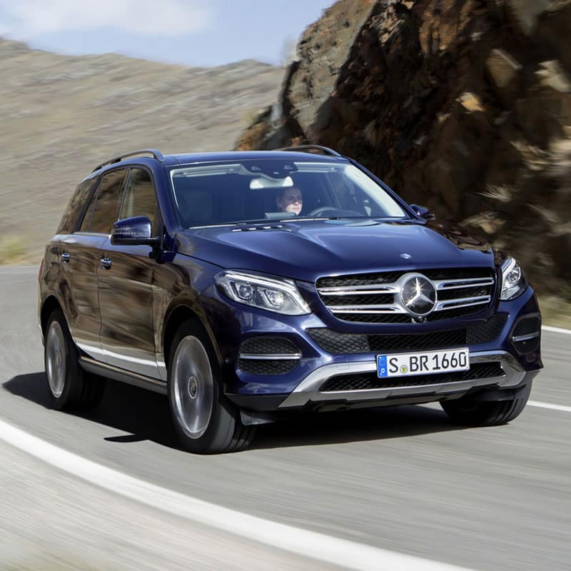 The all-new 2020 Mercedes-Benz GLE SUV