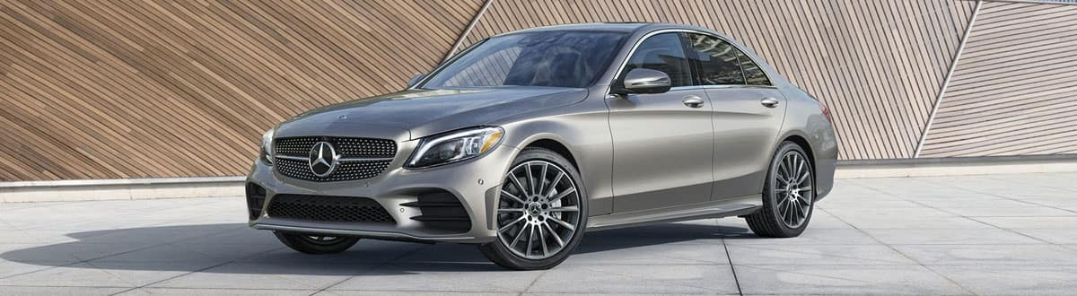 Grey 2020 Mercedes-Benz C 300