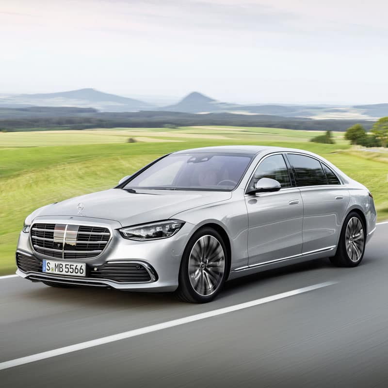 The all-new 2021 Mercedes-Benz S-Class