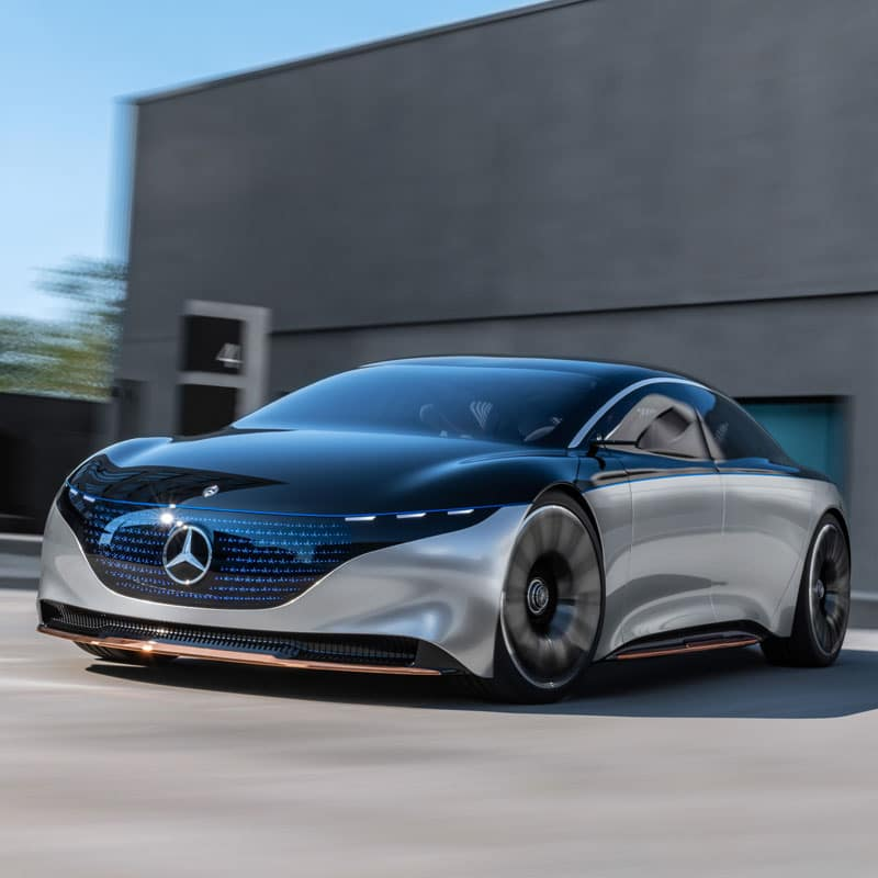 The all-new Mercedes-Benz Vision EQS
