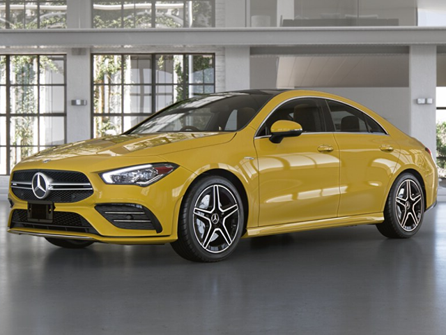2021 AMG® CLA 35 Coupe 4MATIC®