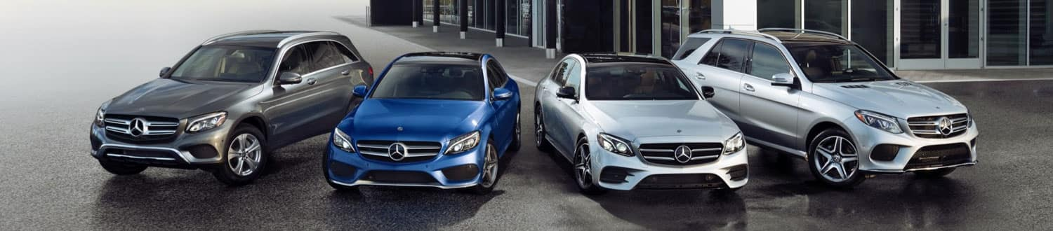Mercedes-Benz Certified Pre-Owned Lineup