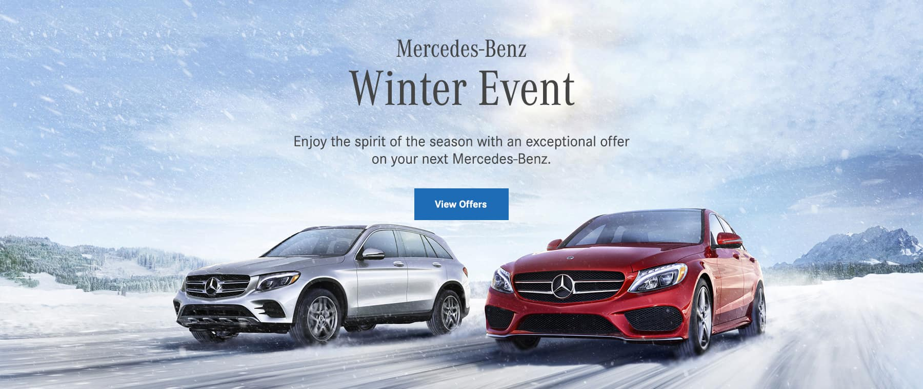 Mercedes benz of milwaukee north wi luxury auto dealership for 2017 mercedes benz winter event