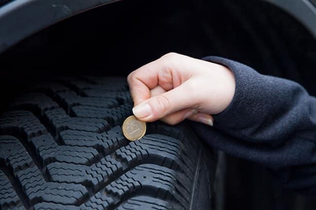 simple ways to check tire tread depth