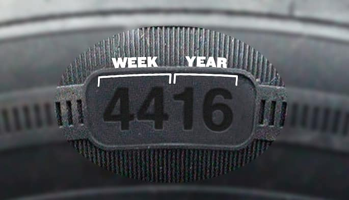 where is the manufacturing date on a tire