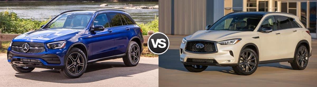 2020 Mercedes-Benz GLC vs 2020 INFINITI QX50