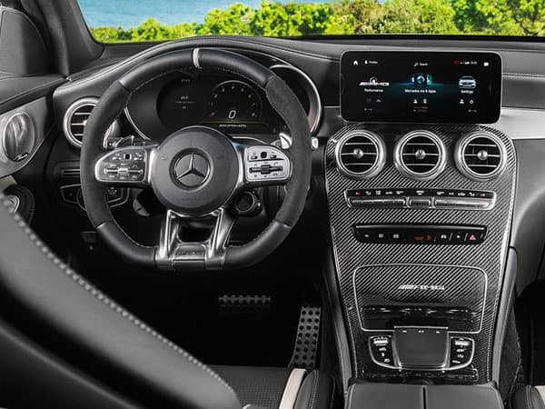 2022 Mercedes-AMG GLC 63 S Interior