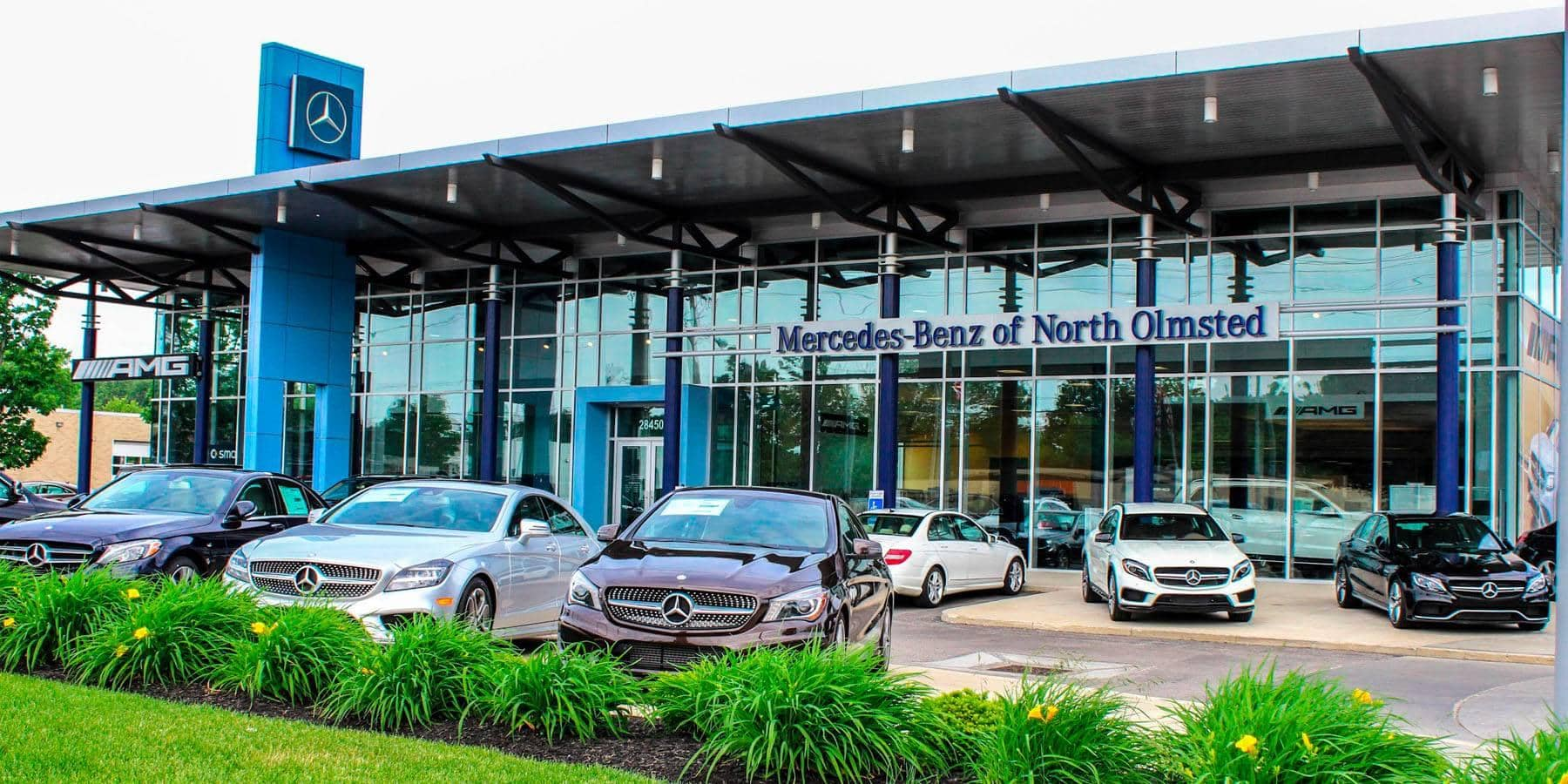 Mercedes benz of north olmsted near cleveland for Mercedes benz of cleveland