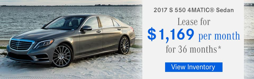 New lease specials and offers available in burlington ma for Mercedes benz of north olmsted service