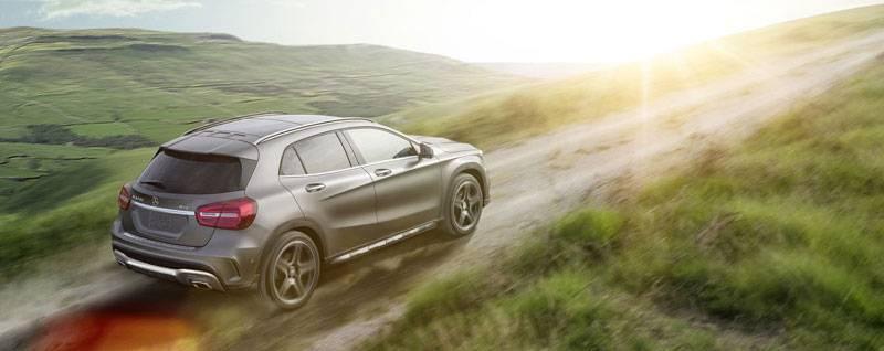 2017 Mercedes-Benz GLA Exterior
