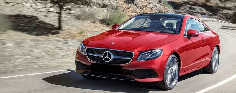 2018 Mercedes-Benz E-Class Coupe Exterior | First Look