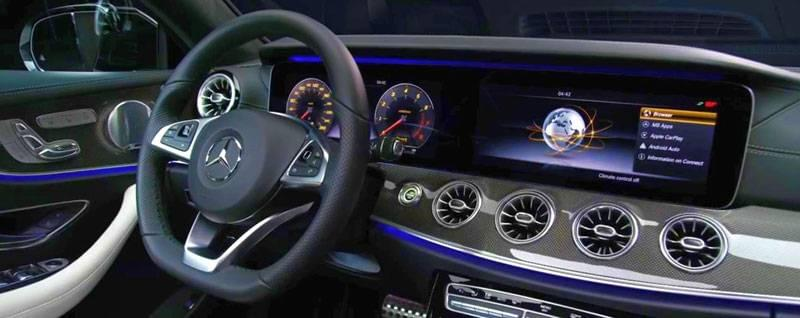 2018 Mercedes-Benz E-Class Coupe Interior | First Look