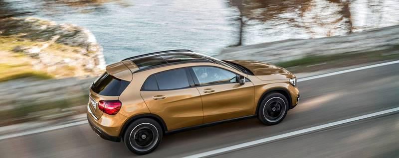 2018 Mercedes-Benz GLA Exterior | First Look