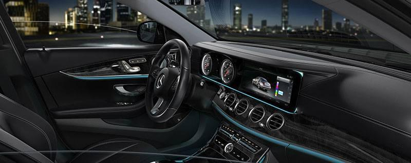 2017 Mercedes-Benz E-Class Sedan Interior