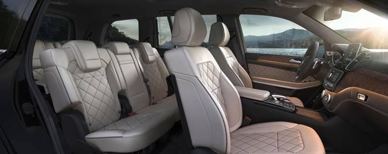 2017 Mercedes-Benz GLS Interior