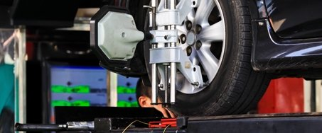 tire alignment services at Mercedes-Benz of North Olmsted in Ohio