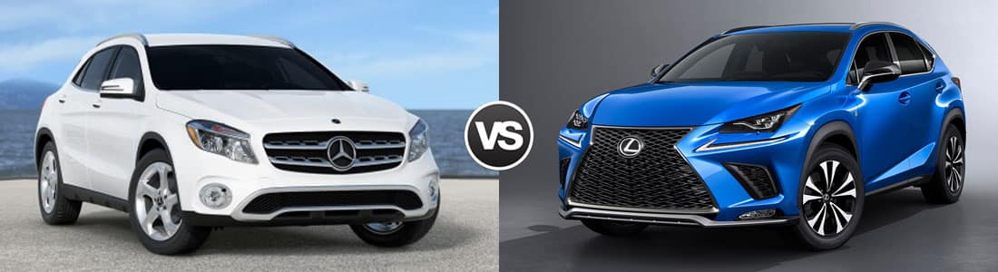 2018 Mercedes-Benz GLA vs 2018 Lexus NX