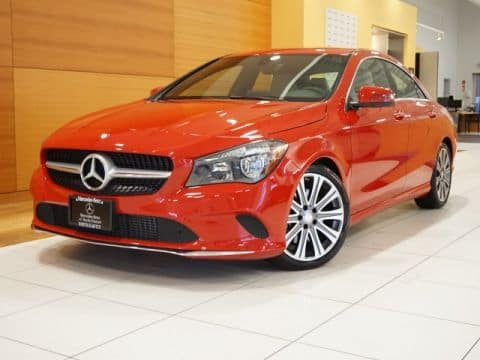 2017 Certified Pre-Owned CLA 250 4MATIC® Coupe