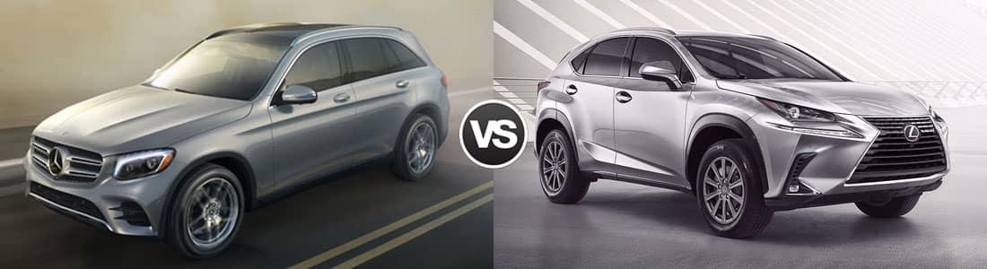 Compare 2018 mercedes benz glc vs lexus nx north olmsted oh for Mercedes benz of north olmsted service