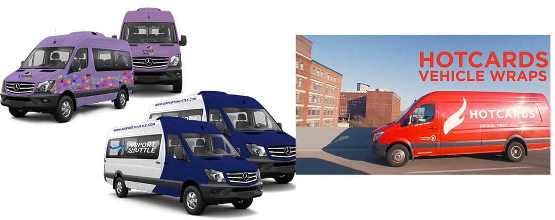 Hotcards Vehicle Wraps