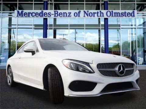 2017 Mercedes-Benz C 300 Coupe 4MATIC®
