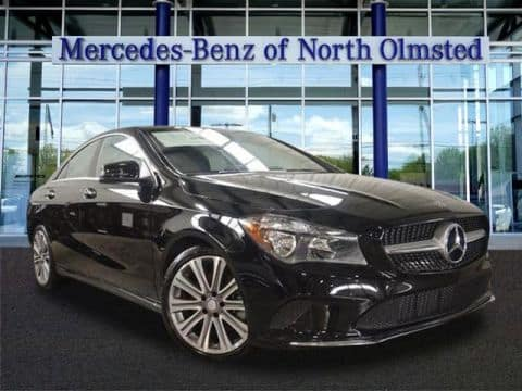 2018 Certified Pre-Owned Mercedes-Benz CLA 250 4-Door Coupe 4MATIC®