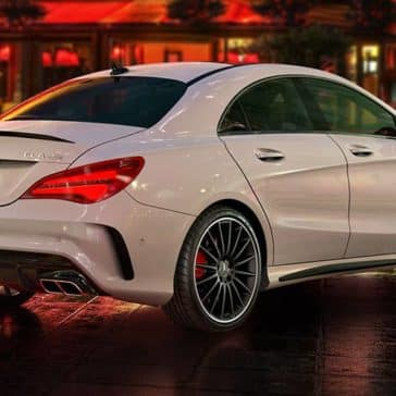 2019 Mercedes-Benz CLA back