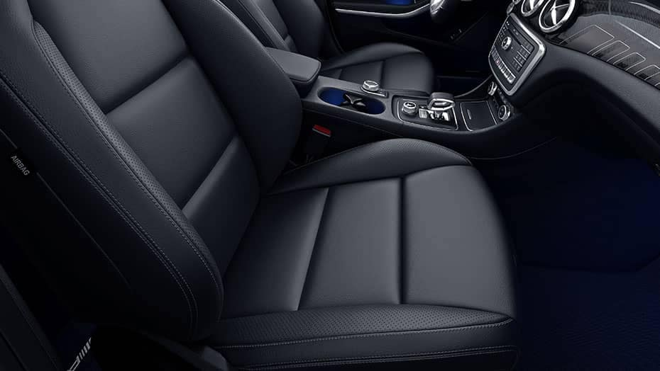 2019 Mercedes-Benz CLA leather seats