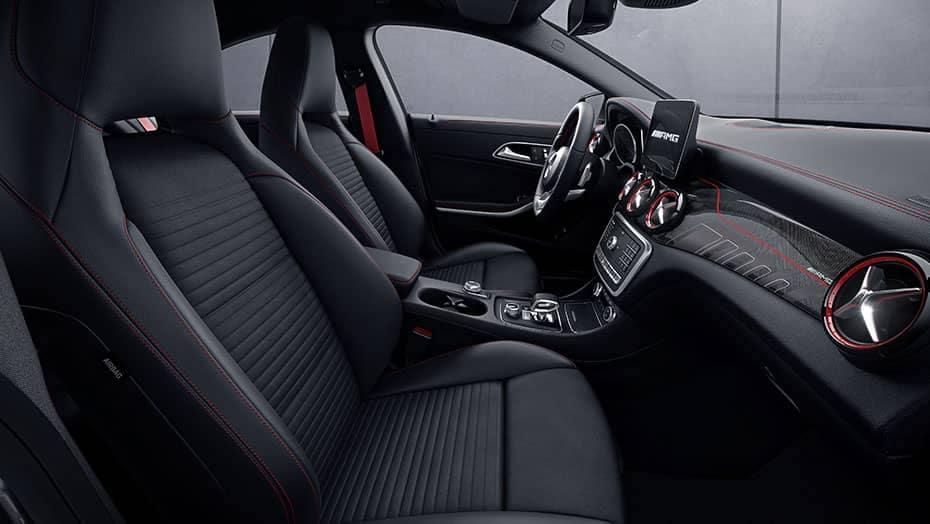 2019 Mercedes-Benz CLA front interior
