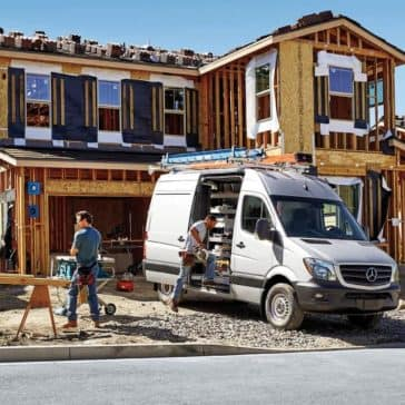 2019 Sprinter Cargo Van At Jobsite