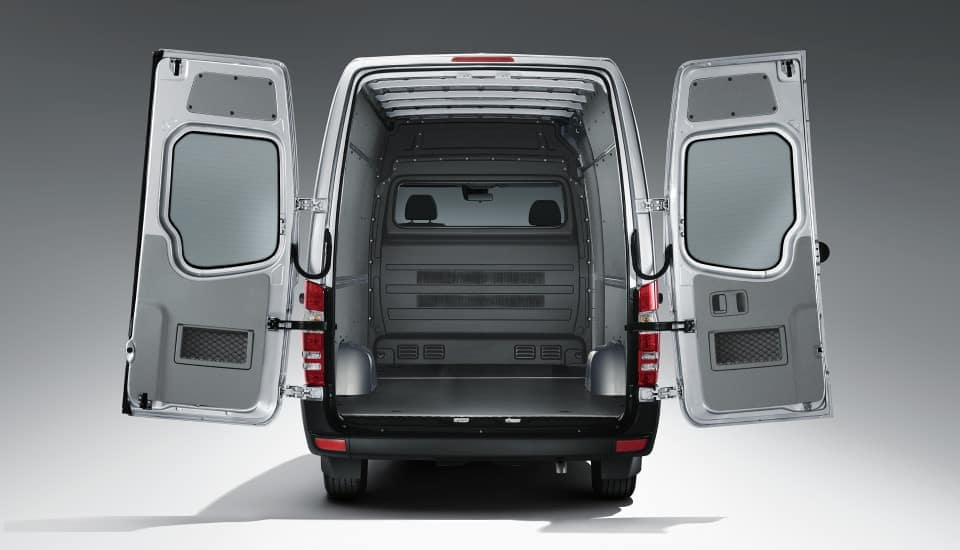 2019 Sprinter Cargo Van Open Doors
