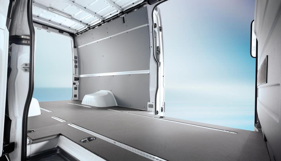 2019 Sprinter Cargo Van Interior Space