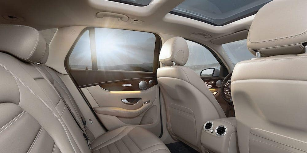 2019 MB GLC Interior