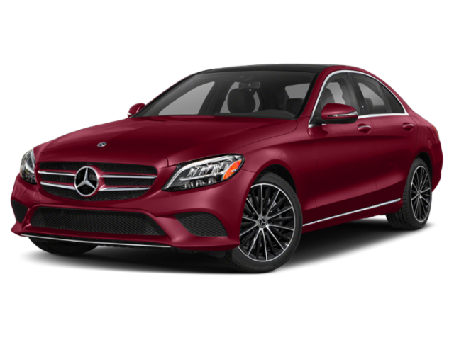 2020 MB C-Class red