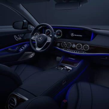 2020 MB S-Class Ambient Lighting
