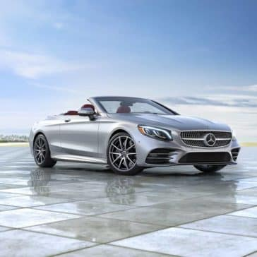 2020 MB S-Class Cabriolet Parked